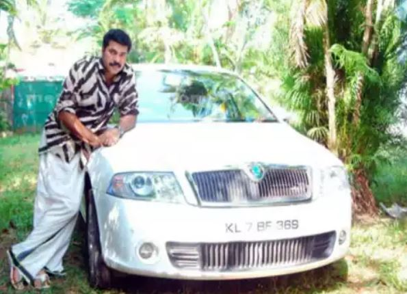 Film Actor Mammootty Cars Collection