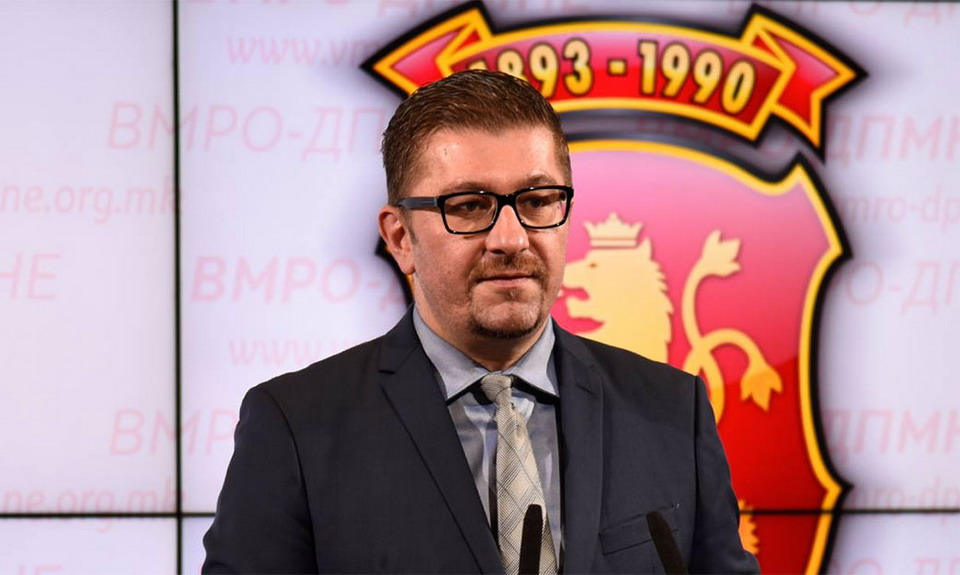 Mickoski: The Macedonian economy is currently alarming