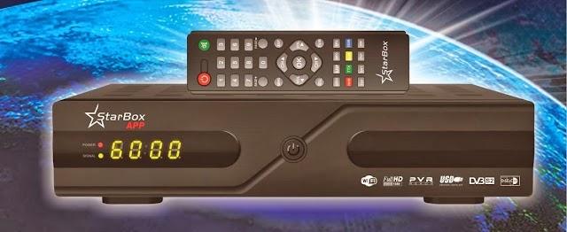 STARBOX APP HD NOVA ATUALIZAÇÃO V 2.61 SKS 58W - 20/07/2016