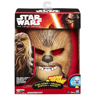Movie like appearace Star Wars The Force Awakens Chewbacca Electronic Mask from £48.80