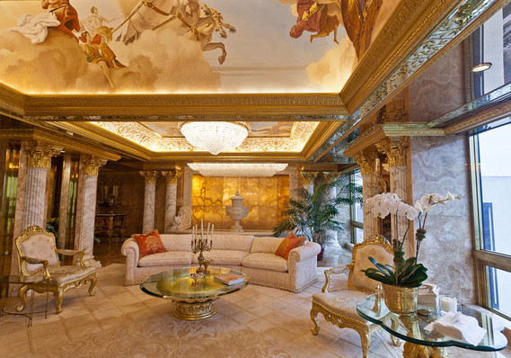 Image result for trump's living room