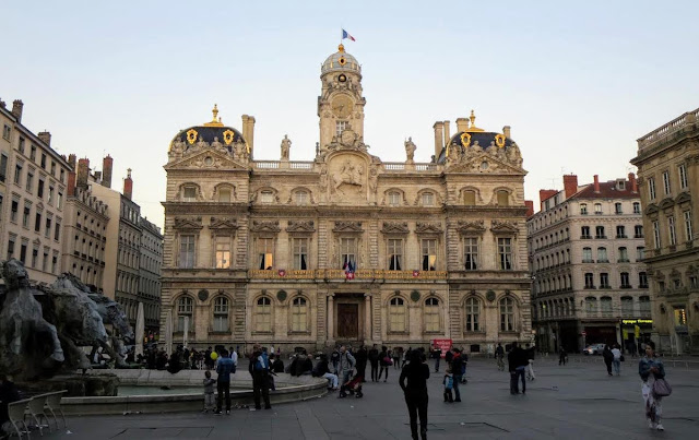 Things to do in Lyon France in 3 days: Explore the architecture near Places des Terreaux