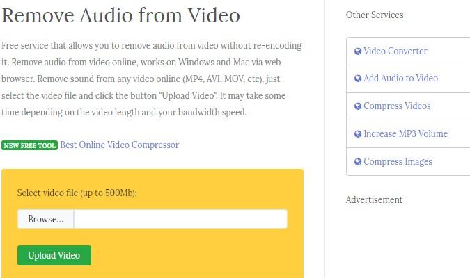 Cara Mudah Hilangkan Audio dari Video - Secara Online