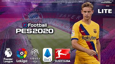 Dream League Soccer Lite Mod eFootball PES 2020