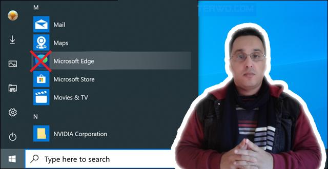 طريقة إزالة « متصفح إيدج كروميوم» وإعادة النسخة القديمة على ويندوز 10