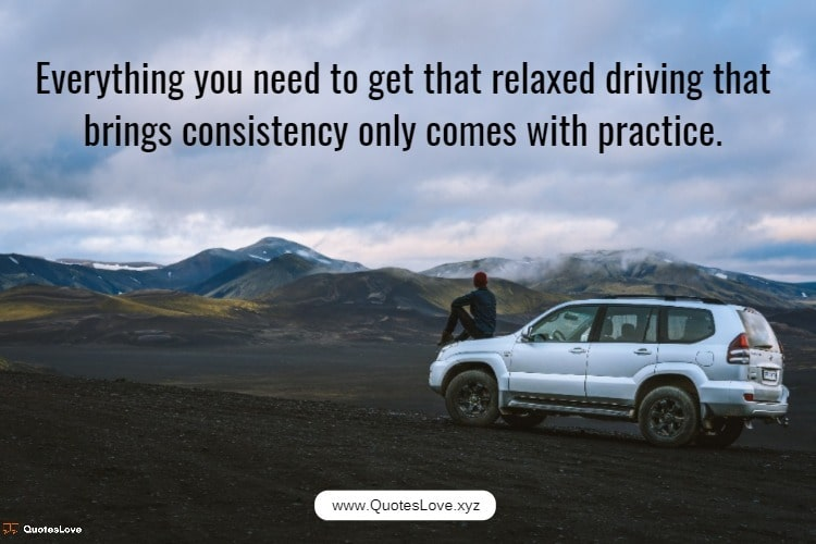 Driving Cars Quotes
