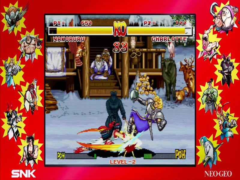Download SAMURAI SHODOWN NEOGEO COLLECTION Free Full Game For PC