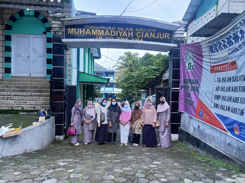 Kunjungan Lab. School UHAMKA ke SMA Islam Kreatif Muhammadiyah Cianjur