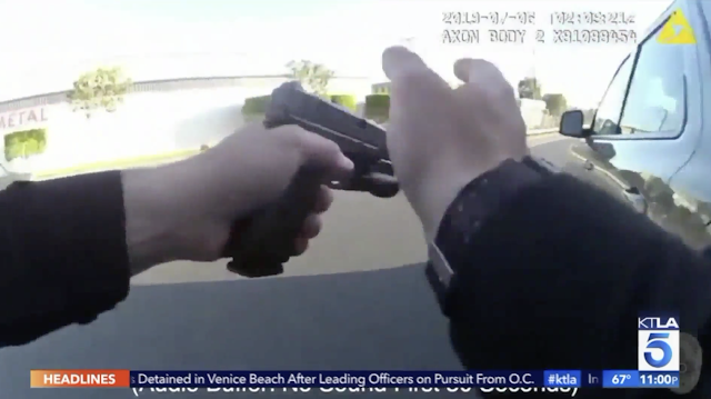 Bodycam Video Shows Fatal Police Shooting on Anaheim Freeway (Warning: Graphic Video, Language)