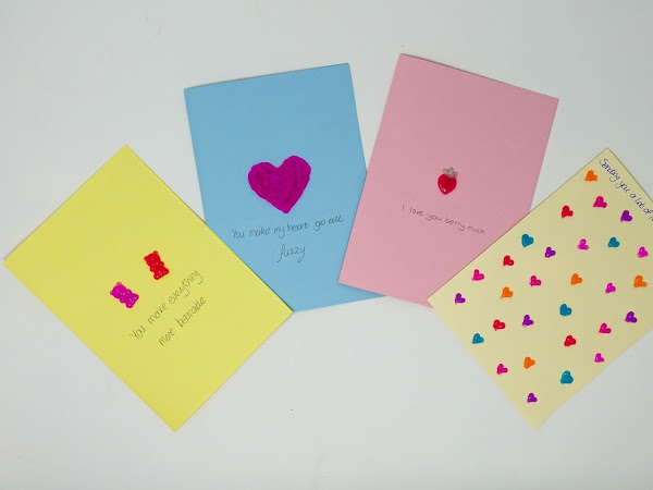 Valentine's Day Card Inspiration with Gel-A-Peel