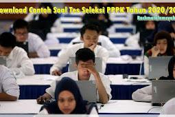 Download Contoh Soal Tes Seleksi PPPK Tahun 2020/2021