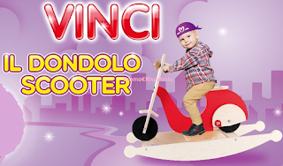 Logo Vinci 150 Dondolo Scooter per il tuo bambino