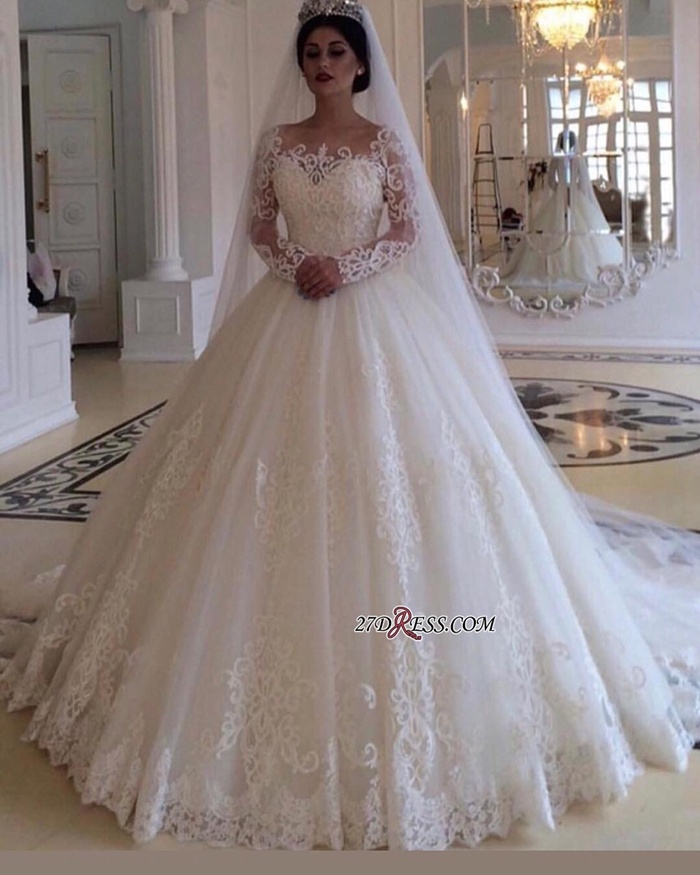 https://www.27dress.com/p/glamorous-bateau-long-sleeves-lace-princess-bridal-gowns-108822.html