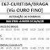 Horário de ônibus E67 CURITIBA / BRAGA 2020 | São José dos Pinhais PR