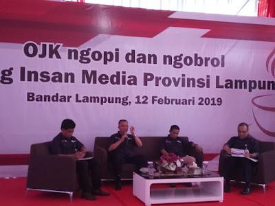 Tahun 2018, Literasi Keuangan di Lampung Masih di Bawah Nasional