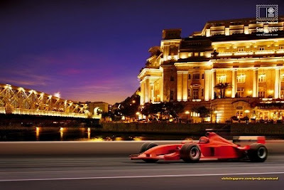 Singapore F1 night race