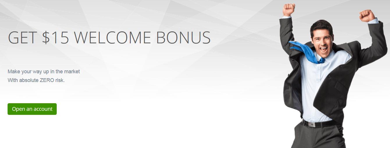 Bonus bez depozytu forex