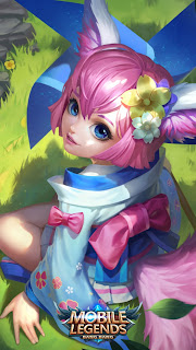 Nana Wind Fairy Heroes Support Mage of Skins MPL Exclusive V1
