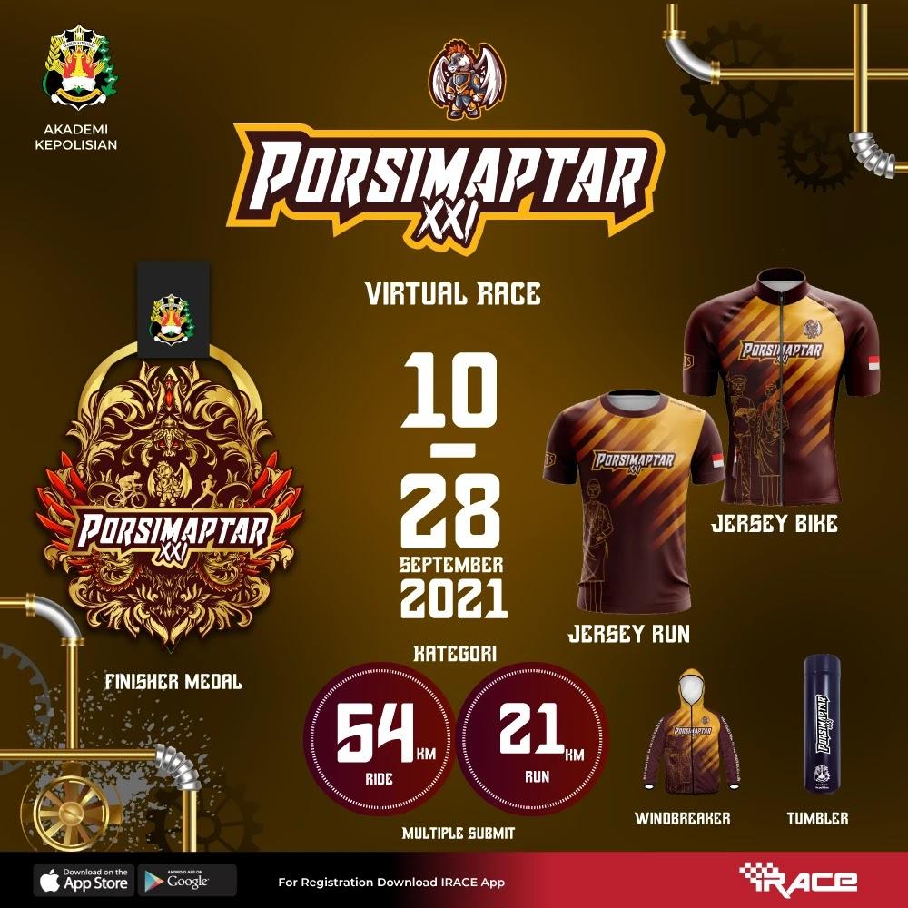Porsimaptar Virtual Run XXI • 2021