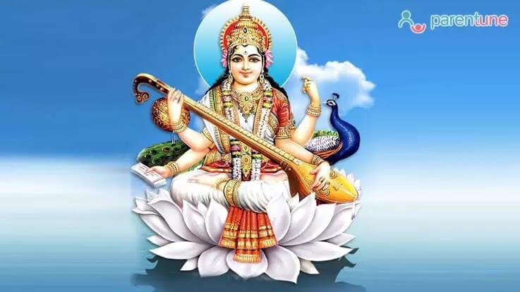 Saraswati Puja Image 2021