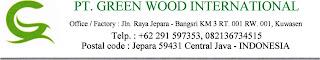 PT Green Wood International Membuka Loker Jepara Untuk Posisi Quality Control, dan PPIC