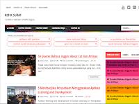 Evo Magz, Template Blogger Premium Buatan Mas Sugeng
