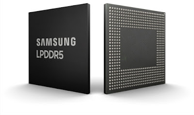 Samsung Introduces 8Gb LPDDR5 DRAM for 5G and AI-powered Mobile Applications