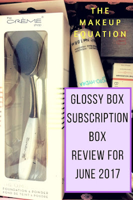 GlossyBox Subscription Box Review June 2017 With Free Product Coupons
