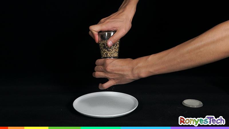 Pepper Powder Dance Science Experiment Materials List