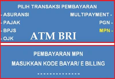 Cara Bayar Pajak Online Lewat ATM BRI