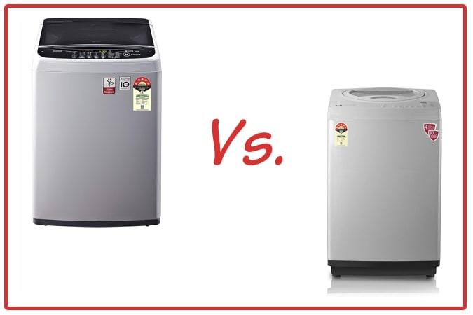 LG T65SNSF1Z (left) and IFB TL RSS Aqua (right) Washing Machine Comparison.