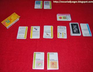 Reseña de Fluxx en español, juego de cartas de 2 a 6 jugadores editado por Looney Labs