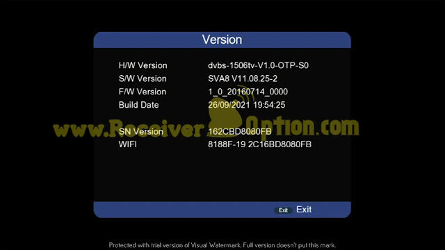 SUPER GOLD SG-6666 V2 BUILT IN WIFI 1506TV 512 4M NEW SOFTWARE WITH SIGNAL ZOOM OPTION 26 SEPTEMBER 2021