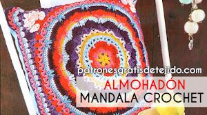 Mandala Crochet para Almohadón Paso a paso