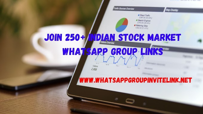 Join 250+ Indian Stock Market Whatsapp Group Links