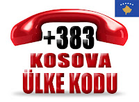 +383 Kosova ülke telefon kodu