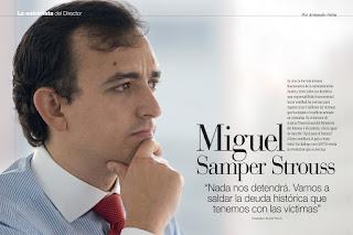 Propuesta de agenda dirigida al Doctor Miguel Samper Strouss