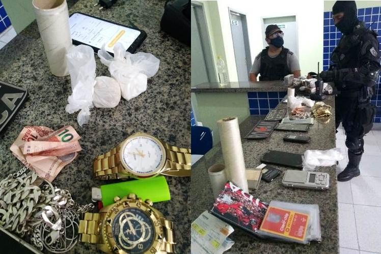 Polícia Militar apreende drogas na Ilha de Santa Isabel em Parnaíba-PI