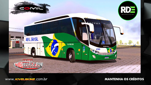 COMIL 1200 4X2 - VIAÇÃO REAL BRASIL TURISMO