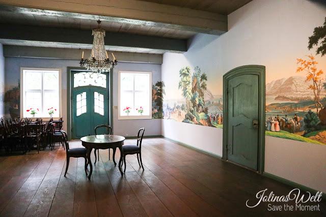 Freilichtmuseum Molfsee Norddeutschland Wandmalerei