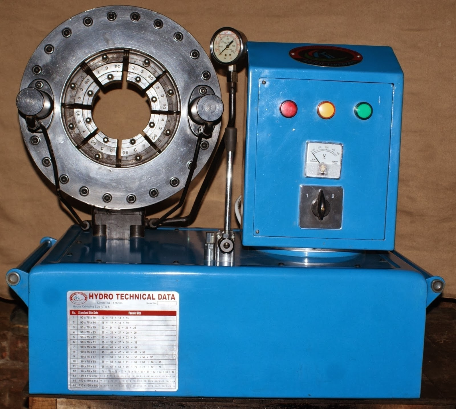 Hose crimping machine: Hose crimping machine www