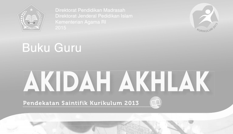Buku Paket Akidah Akhlak Kelas 11 Kurikulum 2013