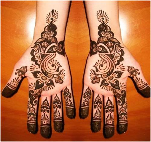 Latest and beautiful Arabic Mehandi designs For Eid-ul-Fitr