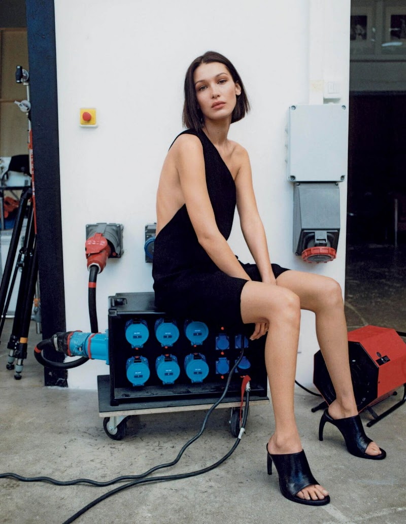 Bella Hadid Featured for Vogue Magazine -  Italy March 2020 | Celebrity Photos Daily