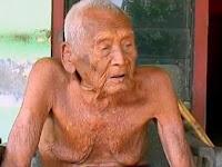 Heboh !! Manusia Tertua di Dunia asal Sragen Marak Diberitakan Media Asing