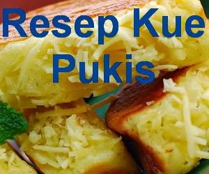Resep Kue Pukis