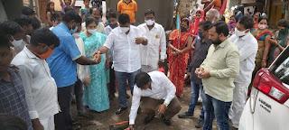 #JaunpurLive : गणपत पाटिल नगर में 30 वर्षों के बाद मिटा अंधेरा