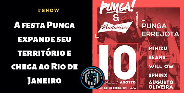 A festa Punga expande seu território e chega ao Rio de Janeiro