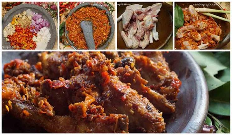 Resep Ayam Goreng Pedas ala Madura
