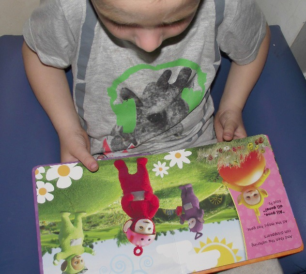 Magic watering can Teletubbies book review